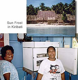 Kiribati Fridge